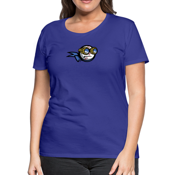 New York Zeppelins Women's Premium T-Shirt - royal blue