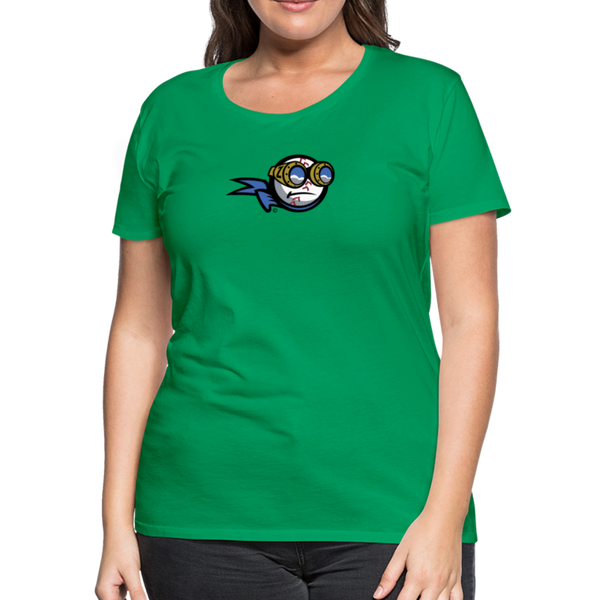 New York Zeppelins Women's Premium T-Shirt - kelly green