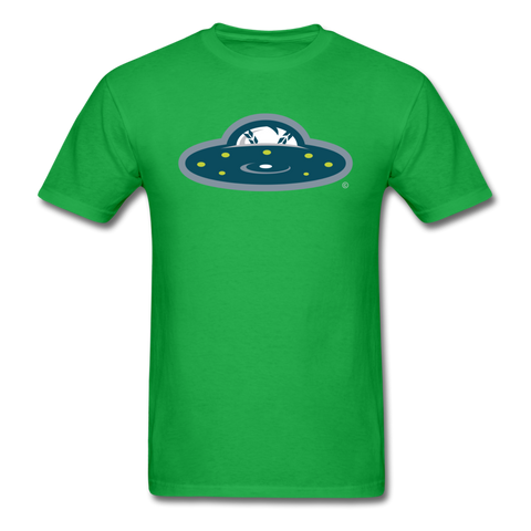New York Invaders Saucer Unisex Classic T-Shirt - bright green