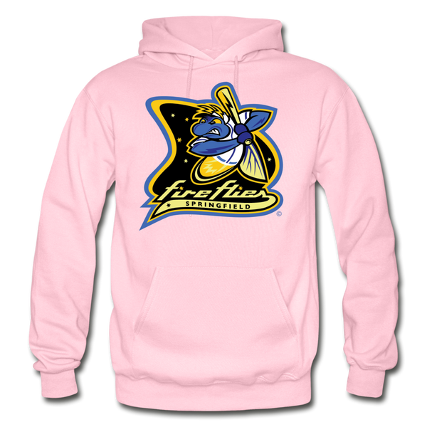 Springfield Fireflies Heavy Blend Adult Hoodie - light pink