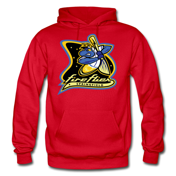 Springfield Fireflies Heavy Blend Adult Hoodie - red
