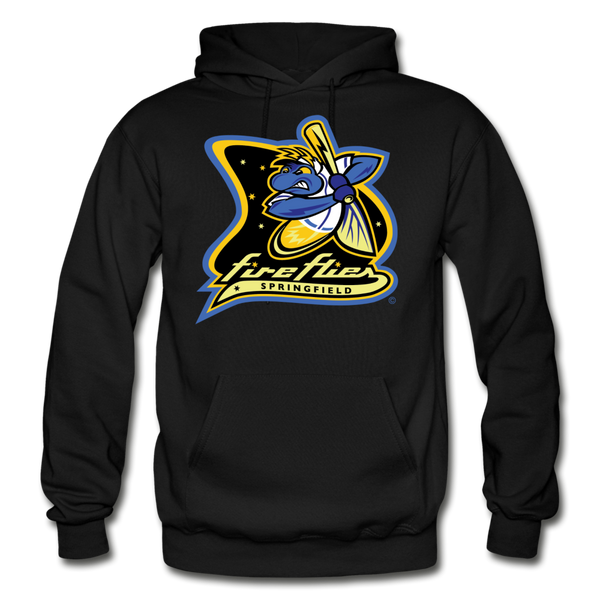 Springfield Fireflies Heavy Blend Adult Hoodie - black
