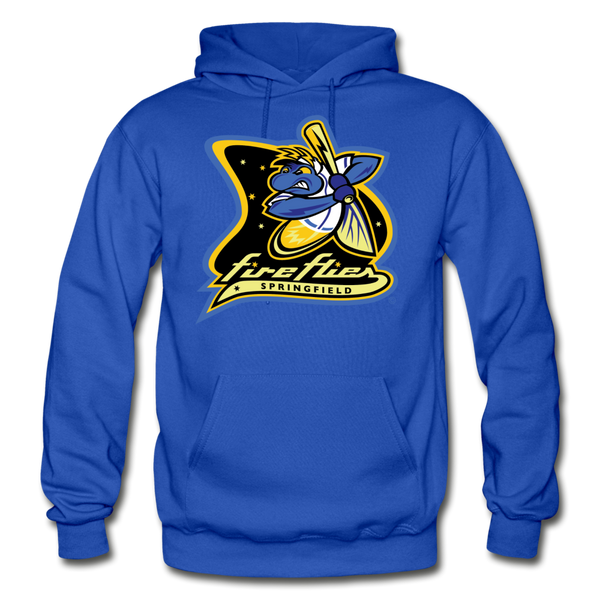 Springfield Fireflies Heavy Blend Adult Hoodie - royal blue
