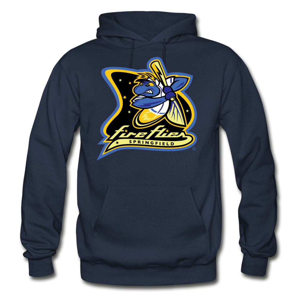 Springfield Fireflies Heavy Blend Adult Hoodie - navy