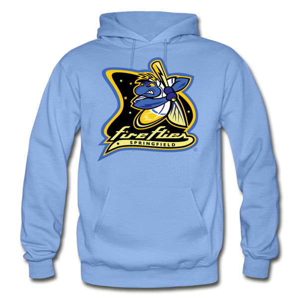 Springfield Fireflies Heavy Blend Adult Hoodie - carolina blue