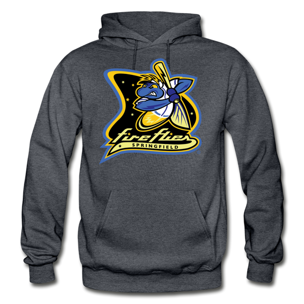 Springfield Fireflies Heavy Blend Adult Hoodie - charcoal gray