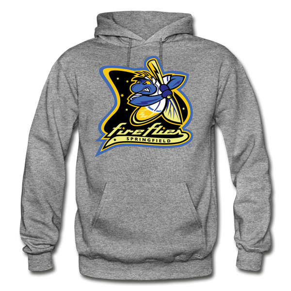 Springfield Fireflies Heavy Blend Adult Hoodie - graphite heather