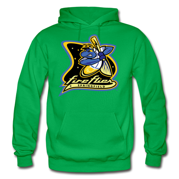 Springfield Fireflies Heavy Blend Adult Hoodie - kelly green