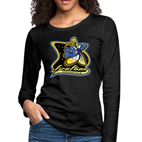 Springfield Fireflies Women's Long Sleeve T-Shirt - charcoal gray
