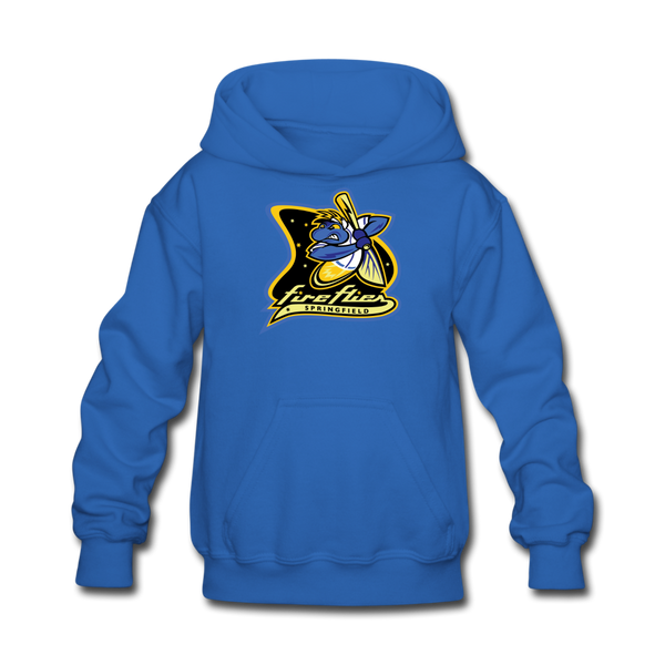 Springfield Fireflies Kids' Hoodie - royal blue