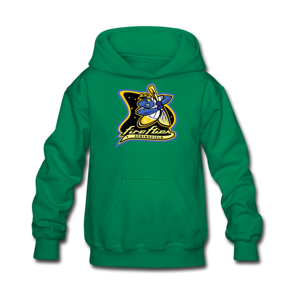 Springfield Fireflies Kids' Hoodie - kelly green