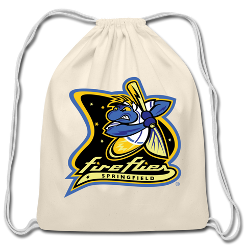 Springfield Fireflies Cotton Drawstring Bag - natural