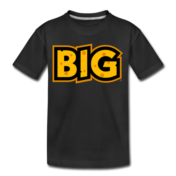 Wisconsin Big Cheese BIG Kids' Premium T-Shirt - black