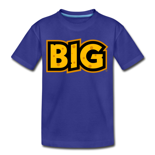 Wisconsin Big Cheese BIG Kids' Premium T-Shirt - royal blue