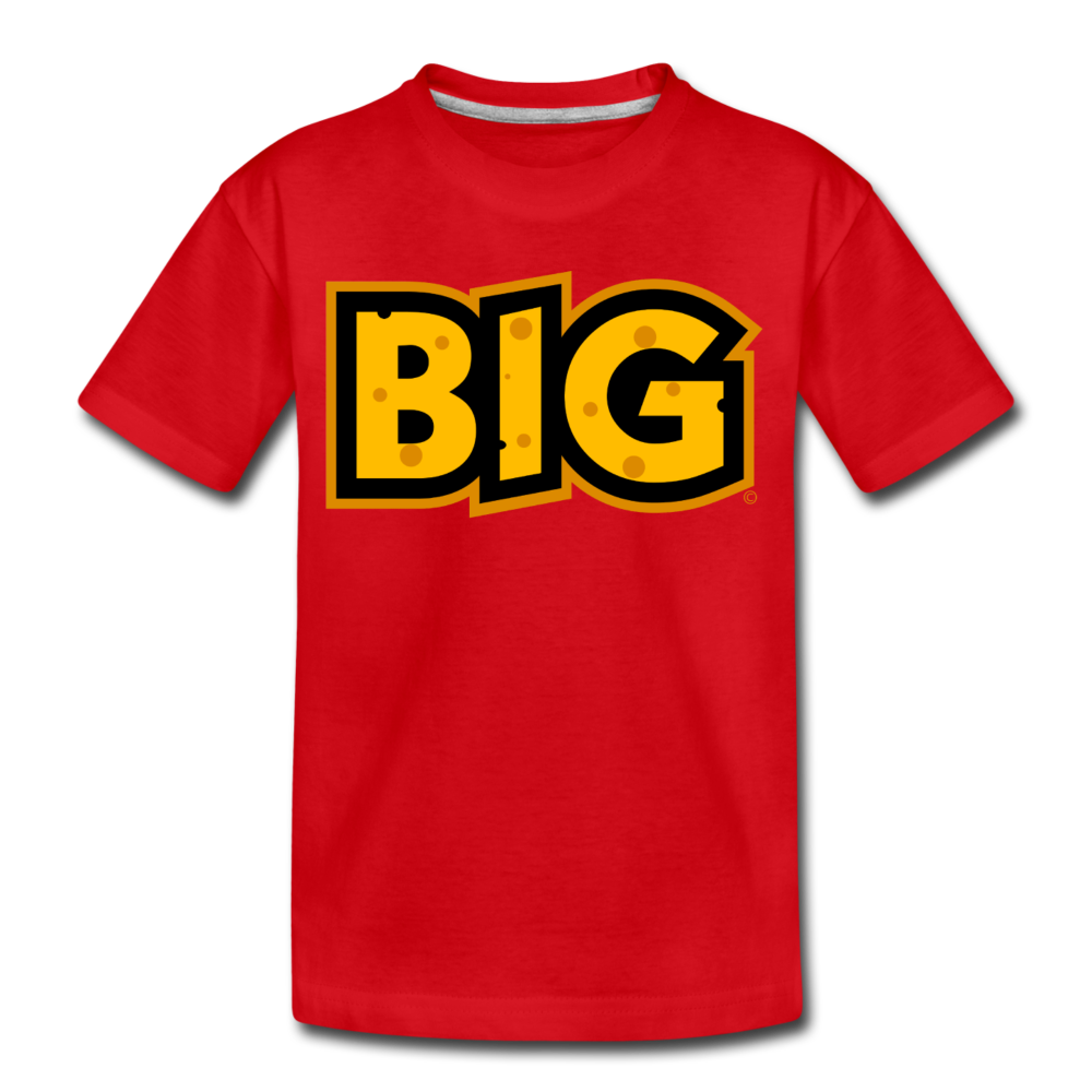 Wisconsin Big Cheese BIG Kids' Premium T-Shirt - red