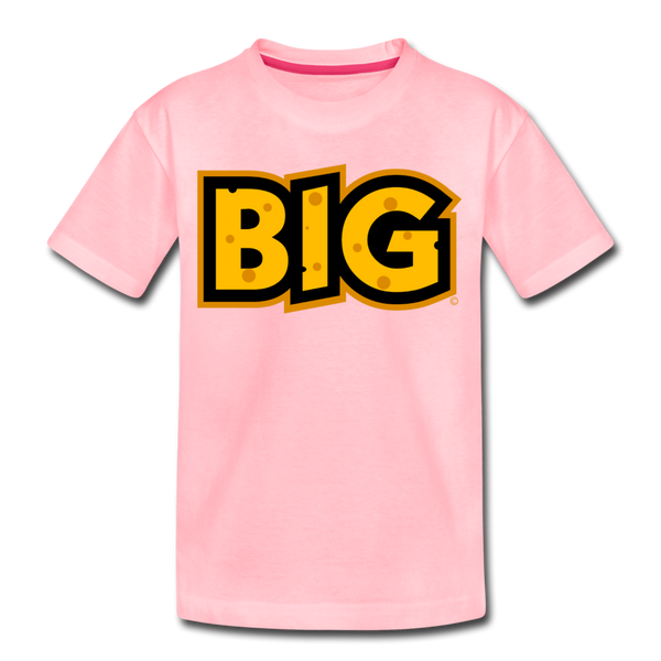 Wisconsin Big Cheese BIG Kids' Premium T-Shirt - pink