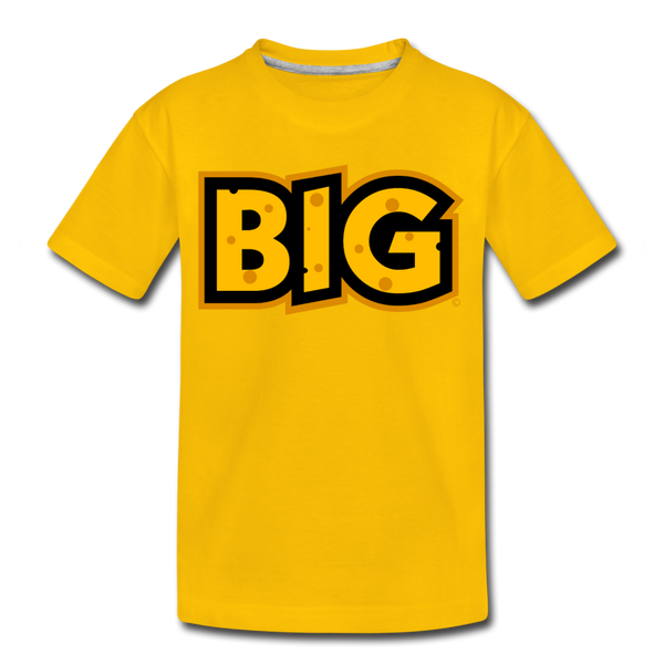 Wisconsin Big Cheese BIG Kids' Premium T-Shirt - sun yellow