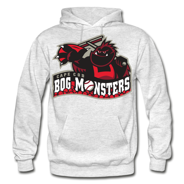 Cape Cod Bog Monsters Heavy Blend Adult Hoodie - light heather gray