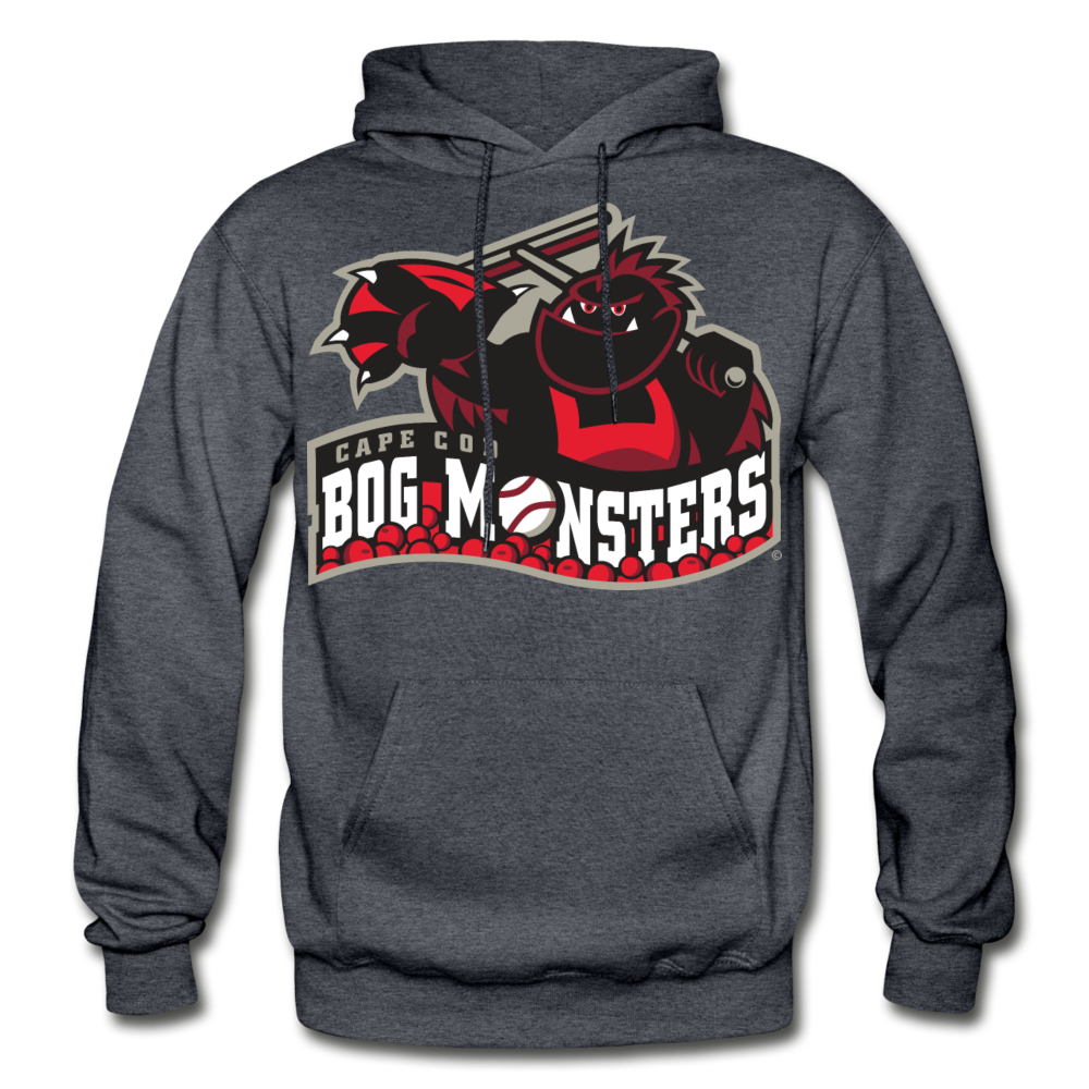 Cape Cod Bog Monsters Heavy Blend Adult Hoodie - charcoal gray