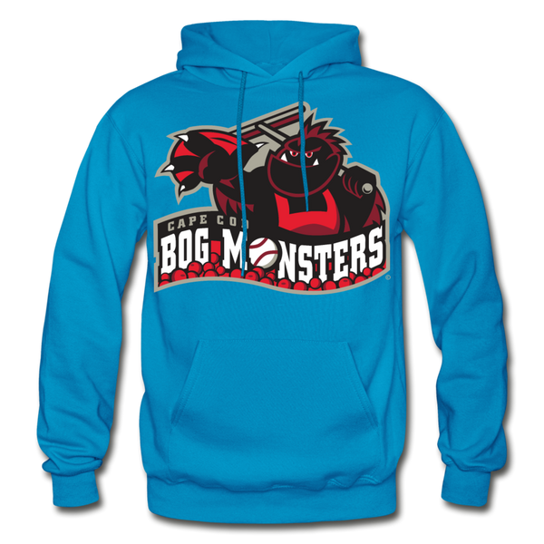Cape Cod Bog Monsters Heavy Blend Adult Hoodie - turquoise