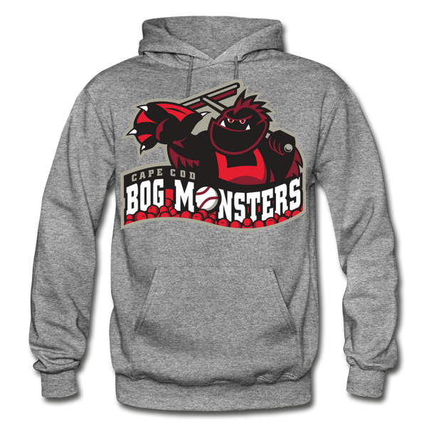 Cape Cod Bog Monsters Heavy Blend Adult Hoodie - graphite heather