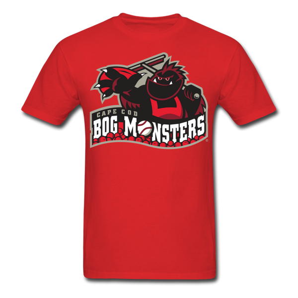 Cape Cod Bog Monsters Unisex Classic T-Shirt - red