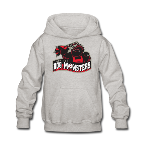 Cape Cod Bog Monsters Kids' Hoodie - heather gray