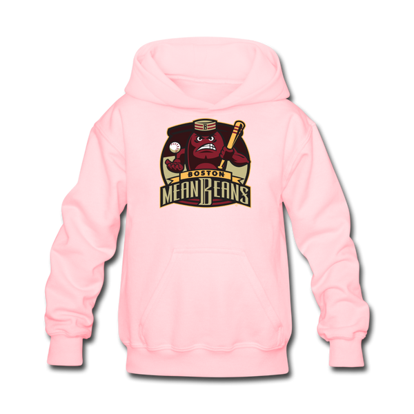 Boston Mean Beans Kids' Hoodie - pink