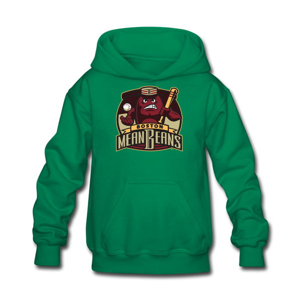 Boston Mean Beans Kids' Hoodie - kelly green