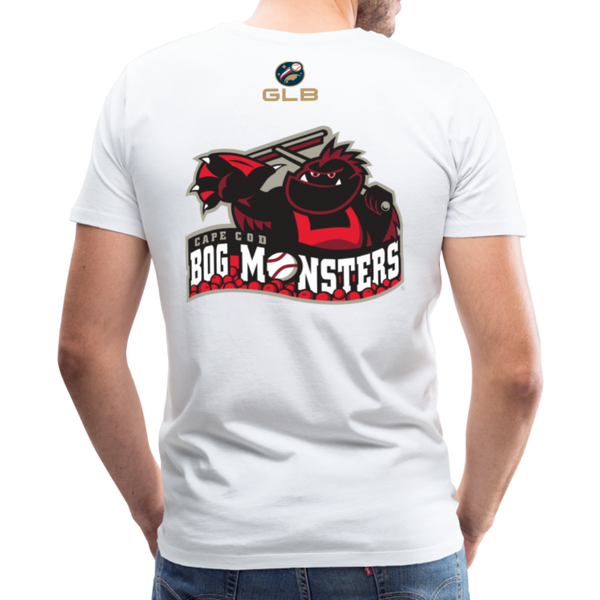 Cape Cod Bog Monsters Men's Premium T-Shirt - white