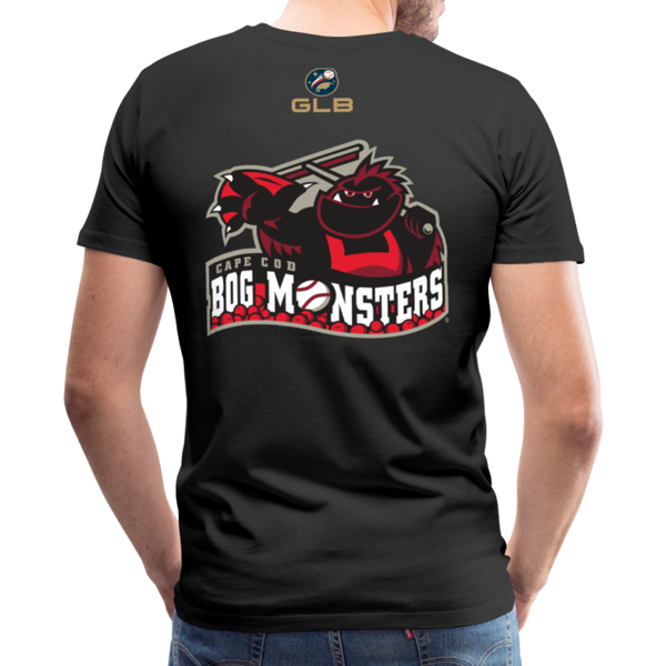 Cape Cod Bog Monsters Men's Premium T-Shirt - black