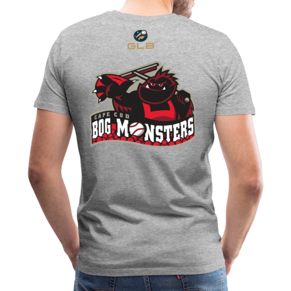 Cape Cod Bog Monsters Men's Premium T-Shirt - heather gray