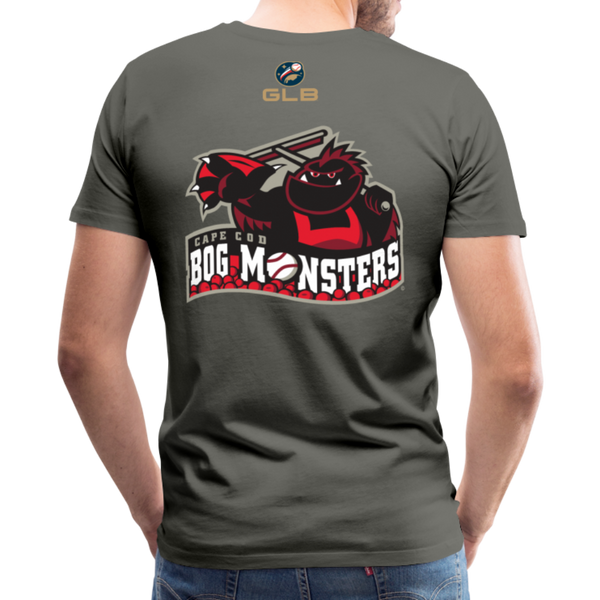 Cape Cod Bog Monsters Men's Premium T-Shirt - asphalt gray