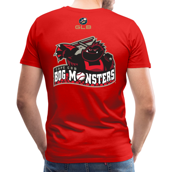 Cape Cod Bog Monsters Men's Premium T-Shirt - red
