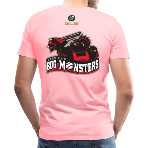 Cape Cod Bog Monsters Men's Premium T-Shirt - pink