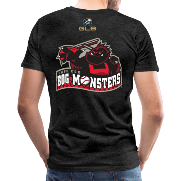 Cape Cod Bog Monsters Men's Premium T-Shirt - charcoal gray