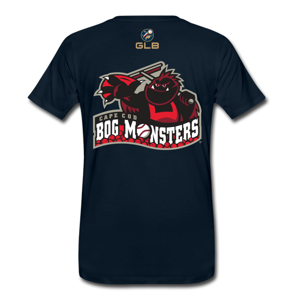 Cape Cod Bog Monsters Men's Premium T-Shirt - deep navy