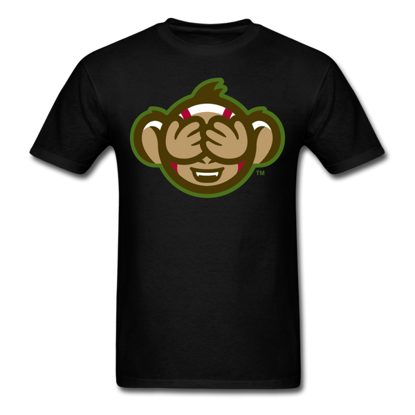 Tri-City Wise Monkeys See No Evil Unisex Classic T-Shirt - black