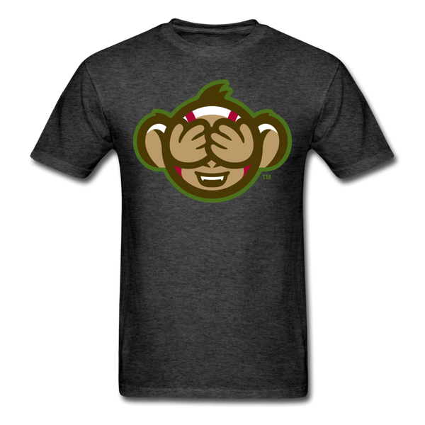 Tri-City Wise Monkeys See No Evil Unisex Classic T-Shirt - heather black