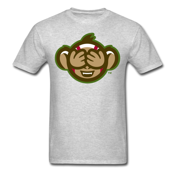 Tri-City Wise Monkeys See No Evil Unisex Classic T-Shirt - heather gray