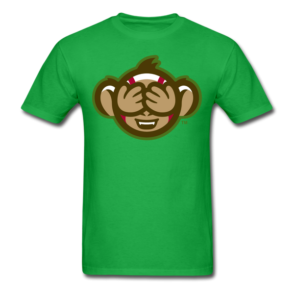 Tri-City Wise Monkeys See No Evil Unisex Classic T-Shirt - bright green