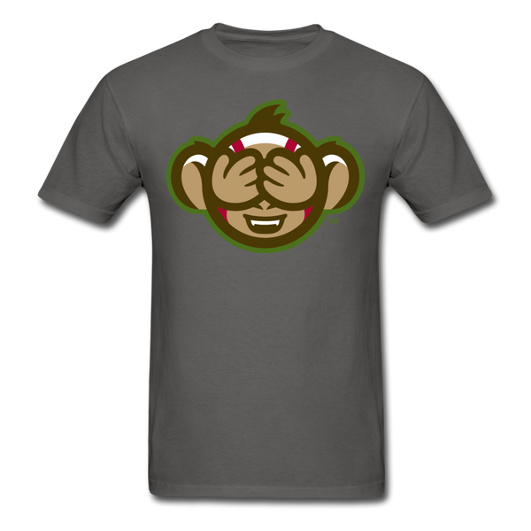 Tri-City Wise Monkeys See No Evil Unisex Classic T-Shirt - charcoal