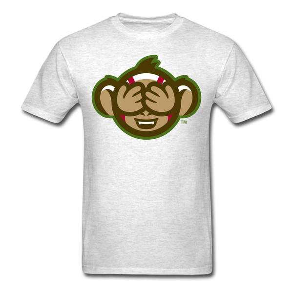 Tri-City Wise Monkeys See No Evil Unisex Classic T-Shirt - light heather gray