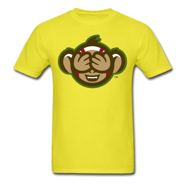 Tri-City Wise Monkeys See No Evil Unisex Classic T-Shirt - yellow