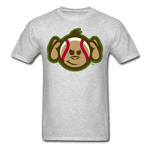Tri-City Wise Monkeys Hear No Evil Unisex Classic T-Shirt - heather gray