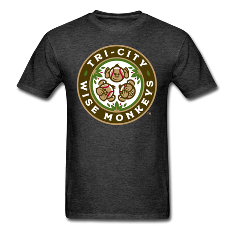 Tri-City Wise Monkeys Unisex Classic T-Shirt - heather black