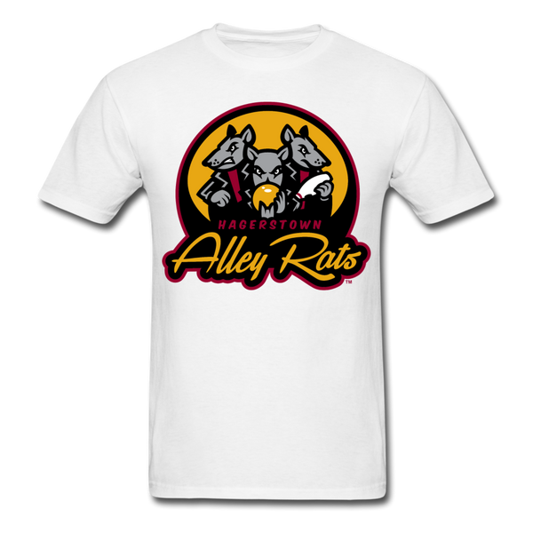 Hagerstown Alley Rats Unisex Classic T-Shirt - white
