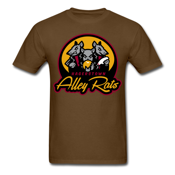 Hagerstown Alley Rats Unisex Classic T-Shirt - brown