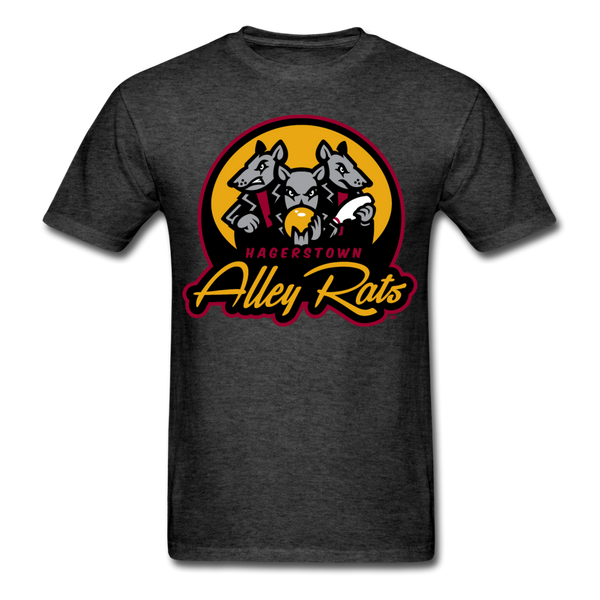 Hagerstown Alley Rats Unisex Classic T-Shirt - heather black