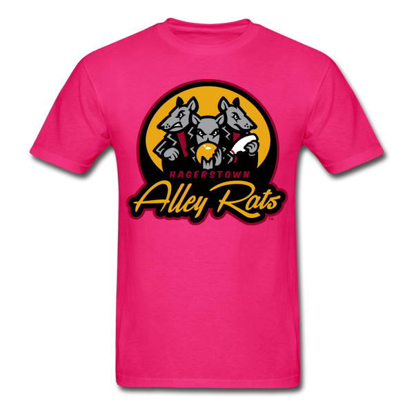 Hagerstown Alley Rats Unisex Classic T-Shirt - fuchsia